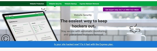 Website Security Testing Tools Landing Page