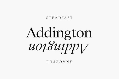 Website Typography Addington