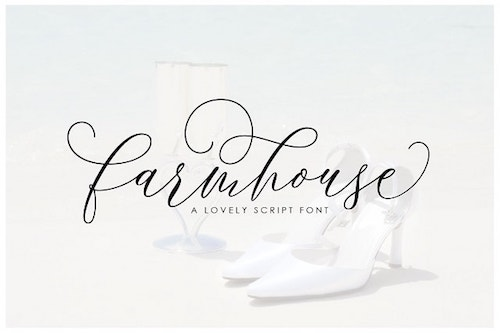 Website Typography Farmhouse