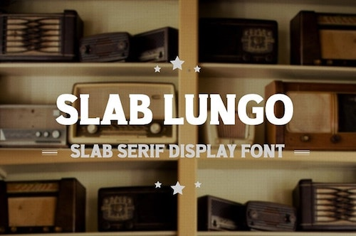 Website Typography Slab Lungo