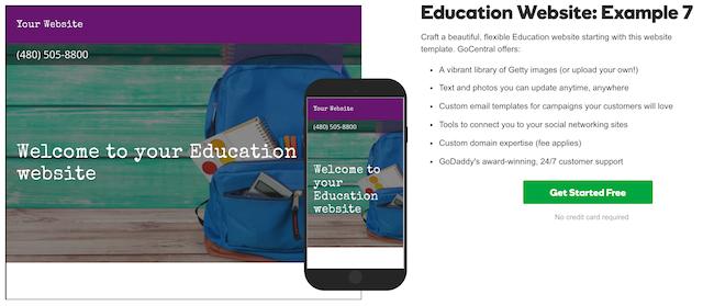 Websites For Teachers GoCentral