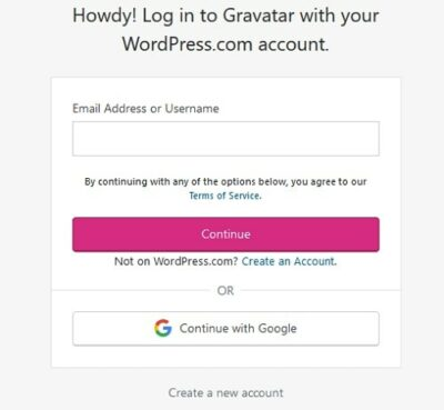 What Is A Gravatar Login