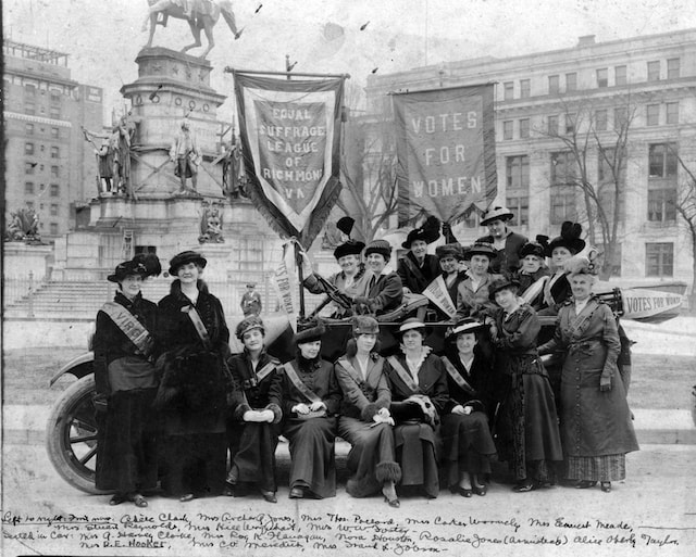 Women's Equality Day Picture of Equal Suffrage League of Richmond
