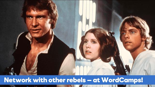 WordCamp Atlanta 2017 Star Wars