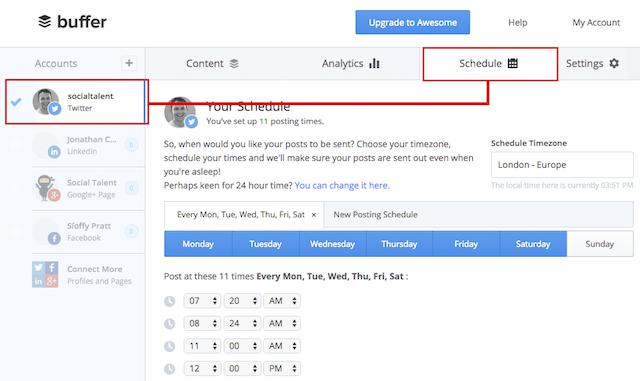WordPress Automation Buffer