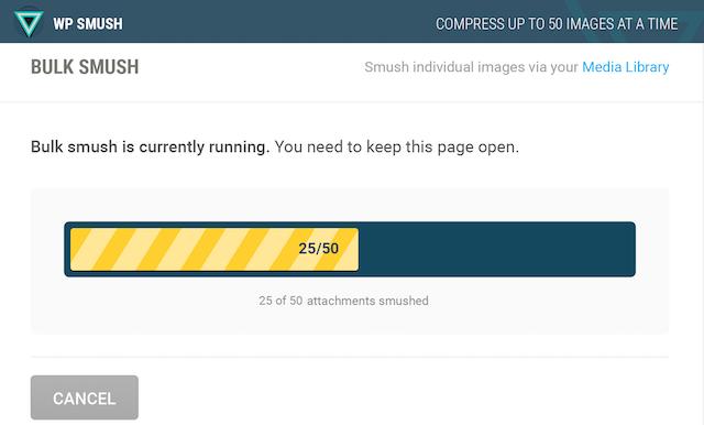 WordPress Automation WP Smush