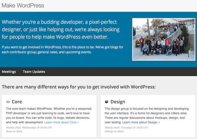 WordPress Community Core