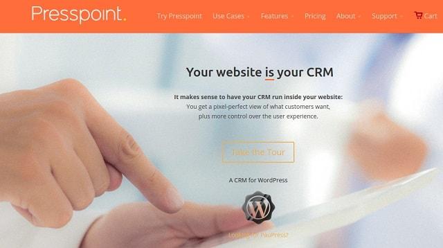 Wordpress CRM Presspoint