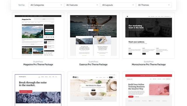 WordPress Genesis Framework Themes