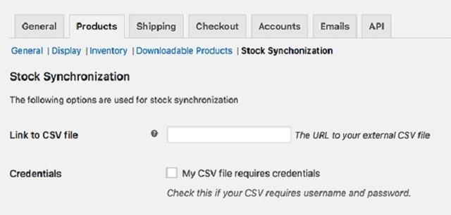WordPress Inventory Plugins Stock Synchronization