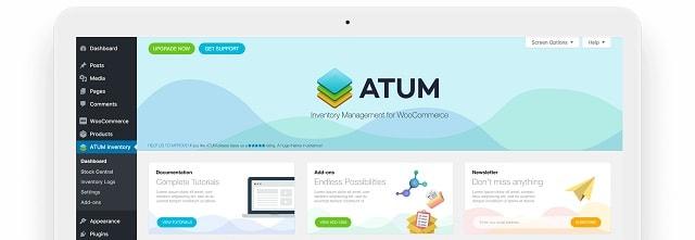 WordPress Inventory Plugins ATUM