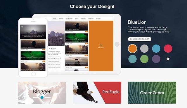 WordPress Mobile App Design