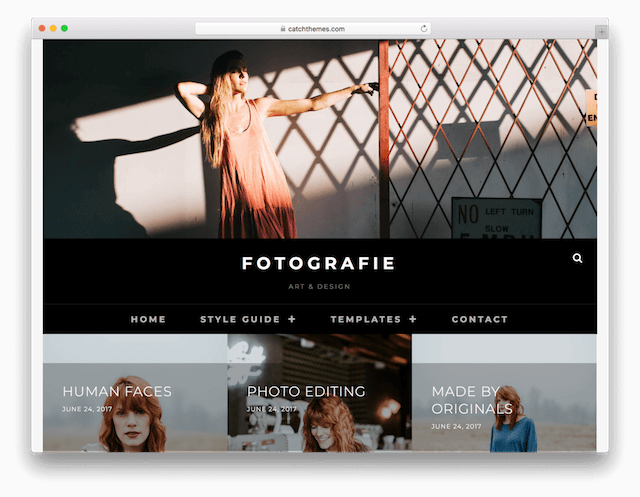 WordPress Photography Themes Fotografie