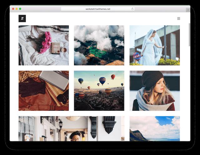 WordPress Photography Themes Werkstatt