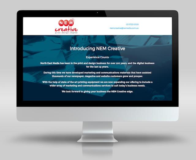 WordPress Portfolio Examples NEM Creative
