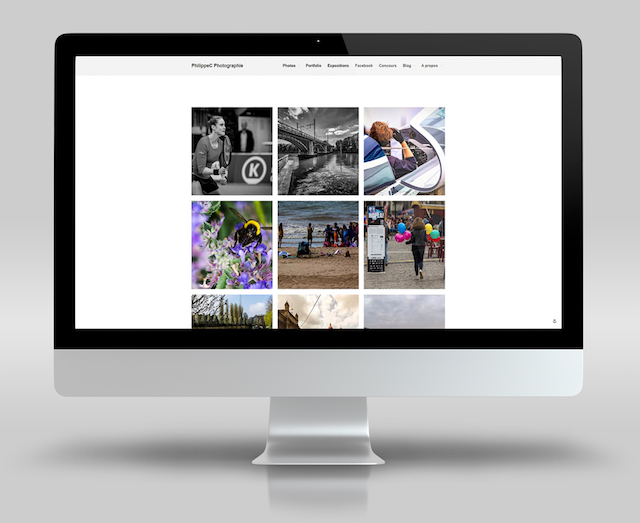 WordPress Portfolio Examples PhilippeC Photographie