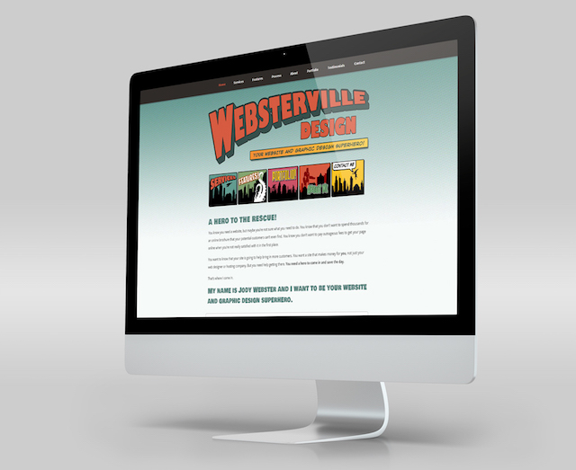 WordPress Portfolio Examples Websterville Design