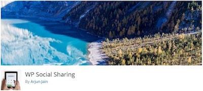 WP Social Sharing WordPressorg Banner