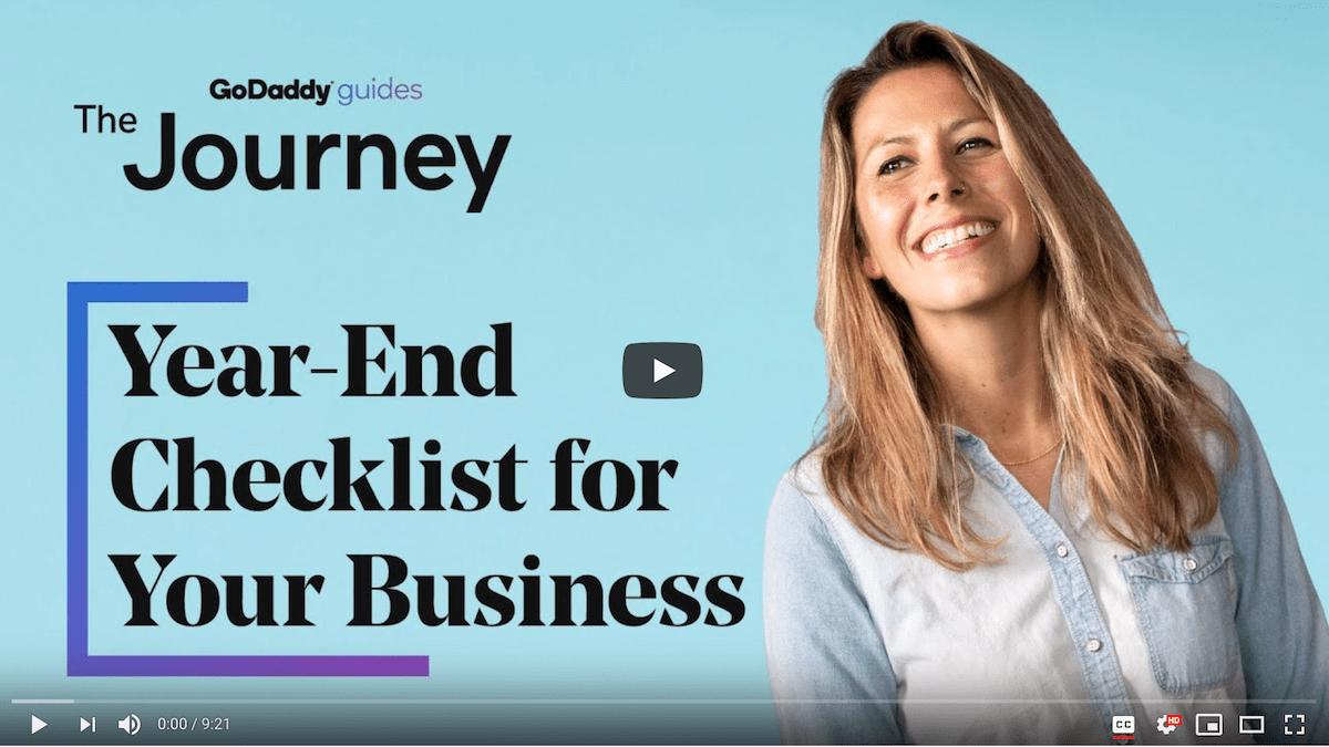 Year End Checklist Journey Video