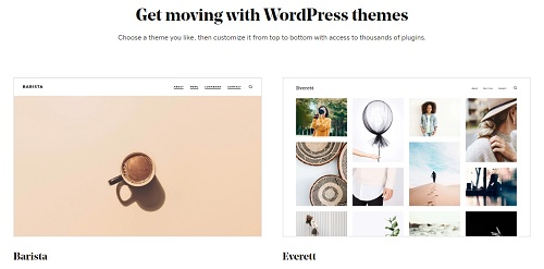 GoDaddy WordPress Themes]
